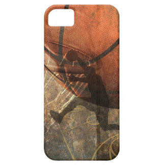 Grunge Basketball iPhone 5 Cover