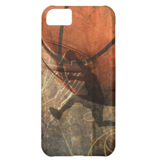 Grunge Basketball iPhone 5C Covers