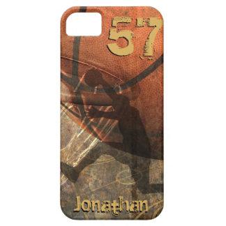 Grunge Basketball iPhone SE/5/5s Case