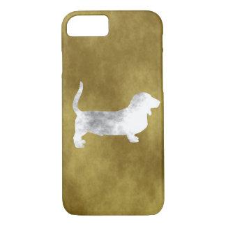 grunge basset hound iPhone 8/7 case