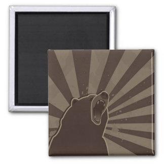 Grunge Bear Magnet