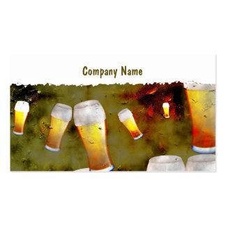Grunge Beer Business Cards