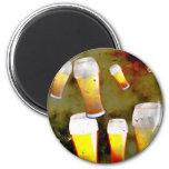 Grunge Beer Magnets