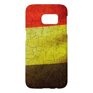Grunge Belgium flag Samsung Galaxy S7 Case