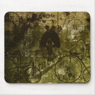 Grunge Bicycles Mousepad