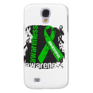 Grunge Bile Duct Cancer Awareness Samsung Galaxy S4 Case