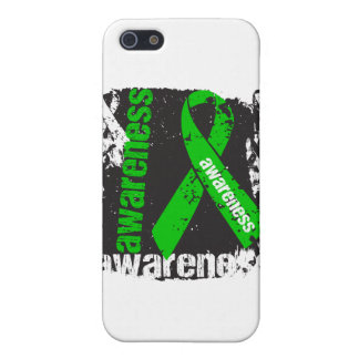 Grunge Bile Duct Cancer Awareness iPhone 5 Cover