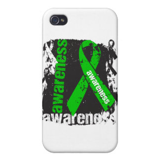 Grunge Bile Duct Cancer Awareness iPhone 4/4S Cover