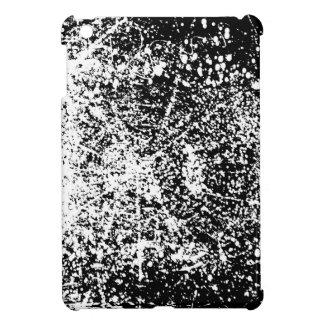 Grunge Black and White Background iPad Mini Cases