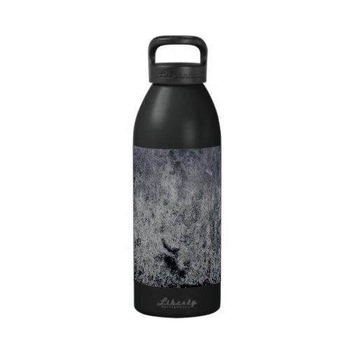 GRUNGE BLACK GREY GRAY DARK EMO SCARY RANDOM ABST DRINKING BOTTLE