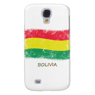 Grunge Bolivia Flag Samsung Galaxy S4 Cases