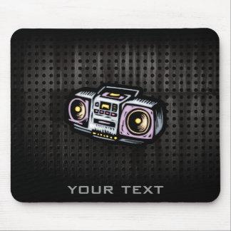 Grunge Boombox Mouse Pad