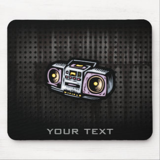 Grunge Boombox Mouse Pad