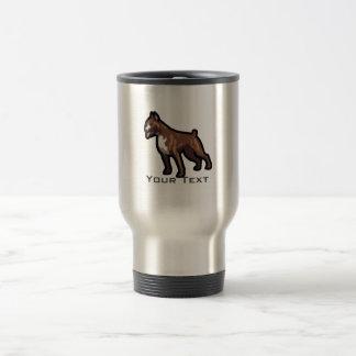 Grunge Boxer Travel Mug