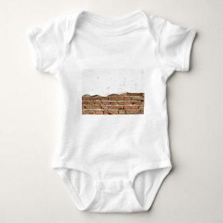 Grunge brick wall t-shirt