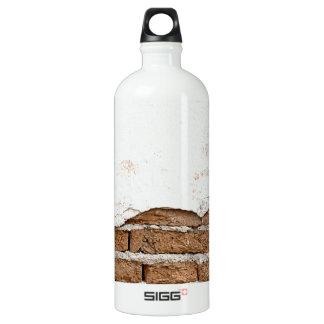Grunge brick wall water bottle