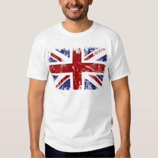 Grunge británico del punk de Union Jack de la Polera