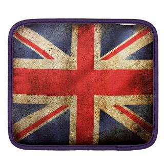 Grunge britian flag ipad sleeves