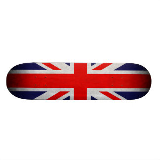 Grunge British Flag Skate Board Decks