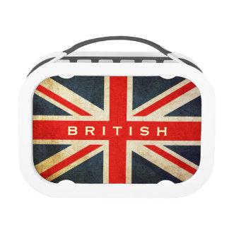 Grunge British Union Jack Lunch Box