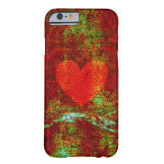 Grunge broken heart barely there iPhone 6 case