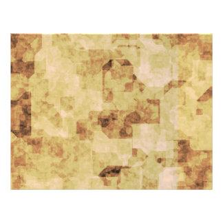 """grunge brown antique parchment textured 8.5"""" x 11"""" flyer"""