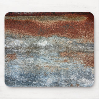 Grunge Brown Rust Texture Pattern Mouse Pad