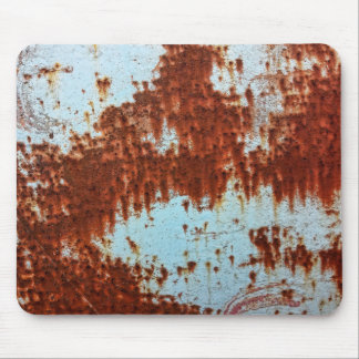 Grunge Brown Rusted Metal Pattern 2 Mouse Pad