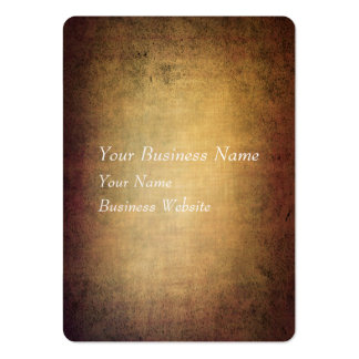 Grunge brown texture with vignette business card