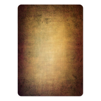 Grunge brown texture with vignette business card template