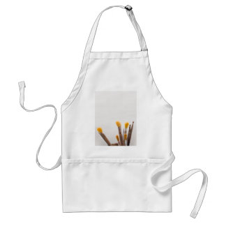 Grunge brushes aprons