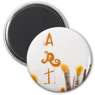 Grunge brushes magnet