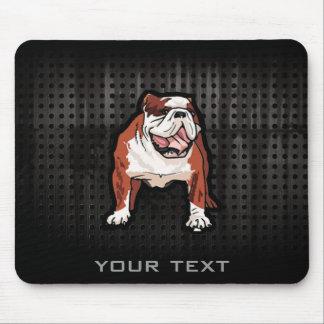 Grunge Bulldog Mouse Pad
