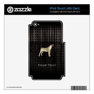 Grunge Bullmastiff iPod Touch 4G Decals