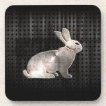Grunge Bunny Coaster
