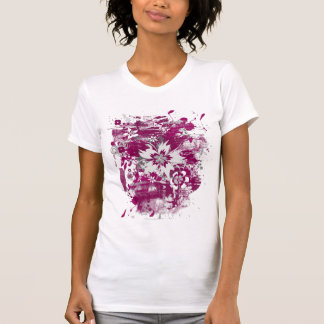 Grunge Burgundy T-Shirt
