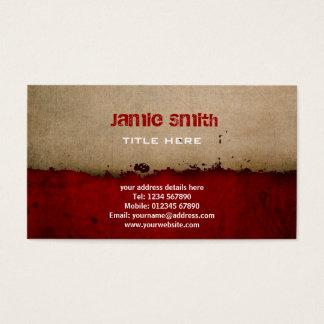 Grunge Business Card
