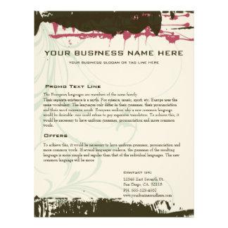 Grunge Business Design Flyer