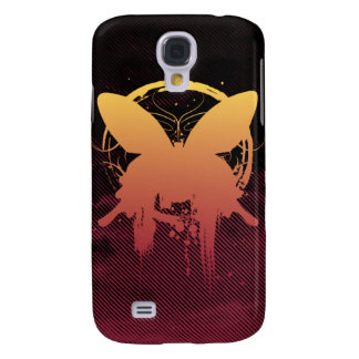 Grunge Butterfly Sunset iPhone 3G Case Galaxy S4 Cover