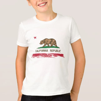 Grunge California State Flag T-Shirt