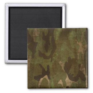 Grunge Camoflage - Magnet