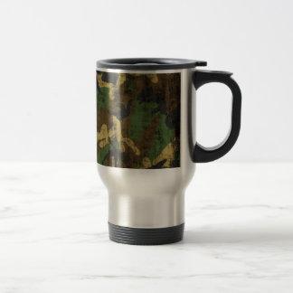 Grunge Camouflage Pattern Print Mug