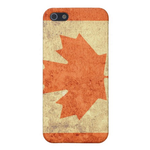 Grunge Canada Flag iPhone 5 Covers