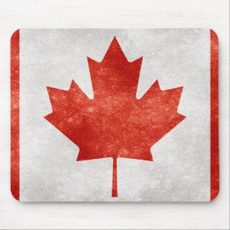 Grunge Canada Flag Mousepads