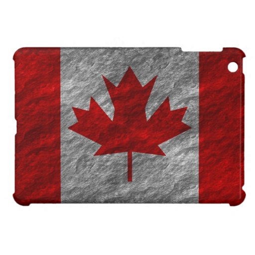 Grunge Canadian Flag 3 iPad Mini Covers