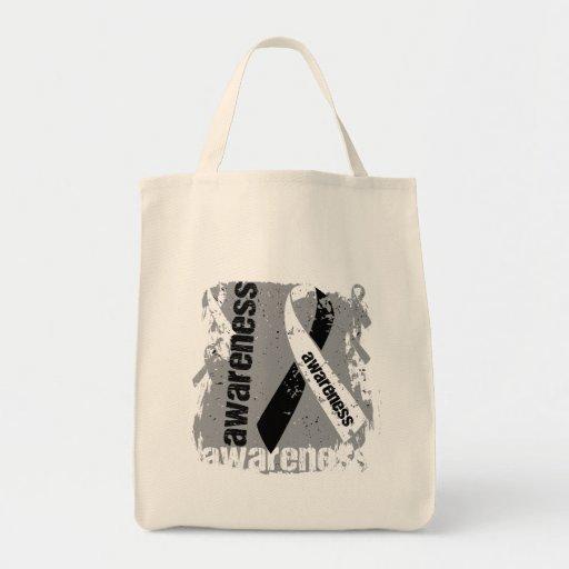 Grunge Carcinoid Cancer Awareness Bag