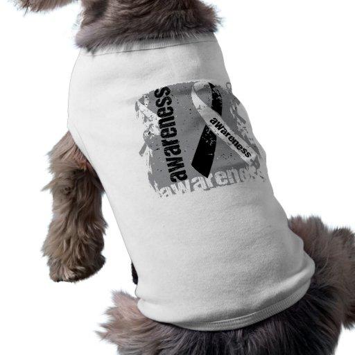 Grunge Carcinoid Cancer Awareness Dog Clothes