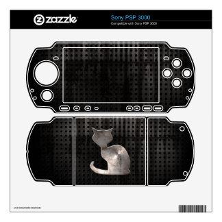 Grunge Cat Skins For Sony PSP 3000