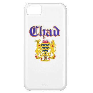 Grunge Chad coat of arms designs iPhone 5C Cover