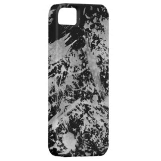 Grunge Chaos™ Black and White Paint iPhone 5 Case